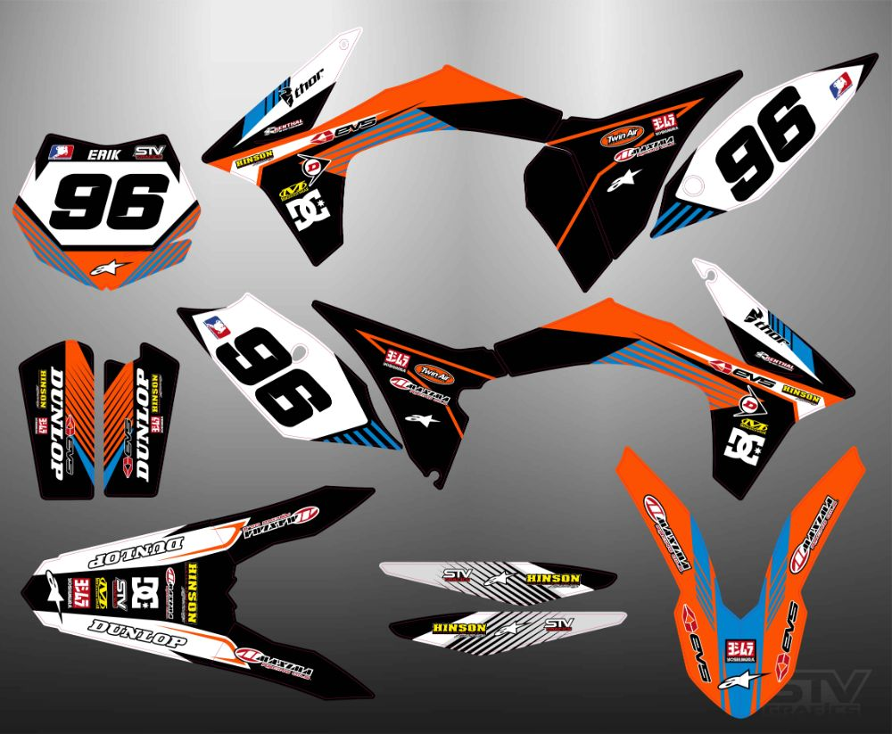Kit adhesivos ktm 2012 cross